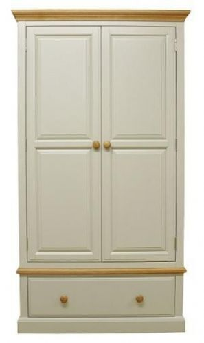 Derby Double Wardrobe With Drawer